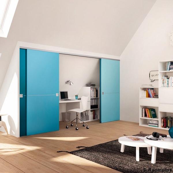 Praktisches Wohnzimmer vom Holzraum Schloss Lüntenbeck